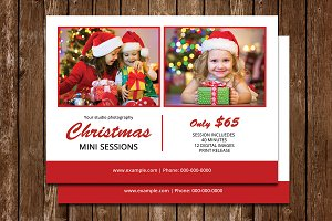 Christmas Mini Session Template-V662