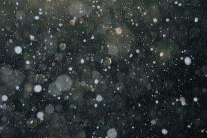 snow bokeh texture