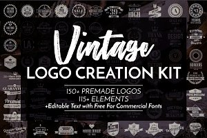 Vintage Logo Creation Kit