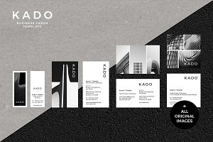 K A D O Business Cards Template
