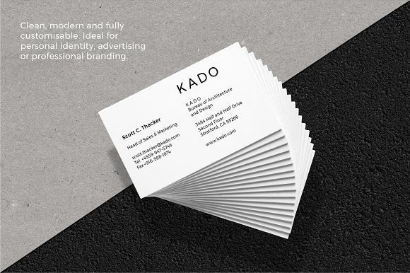 K a d o business cards template business card templates creative k a d o business cards template business card templates creative market colourmoves Image collections