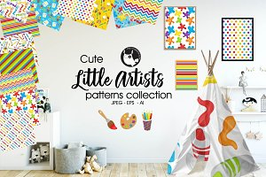 LITTLE ARTISTS Pattern collection