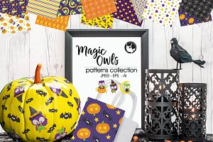 MAGIC OWLS Pattern collection