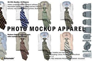 Photo Mockup Apparel Tie Shirt