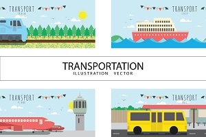 Vector file useful, about transport.