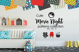 MOVIE NIGHT Pattern collection