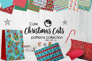 CHRISTMAS CATS Pattern collection