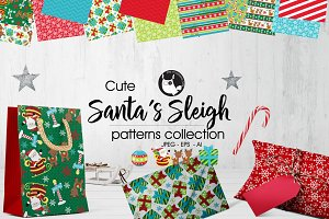 SANTA'S SLEIGH Pattern collection