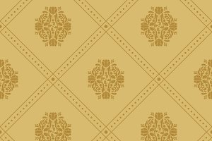 Vintage royal pattern