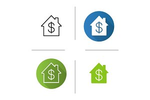 Property purchase icon