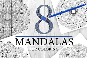 Mandalas for coloring