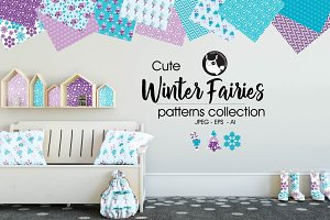 WINTER FAIRIES Pattern collection