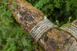 Rope timber