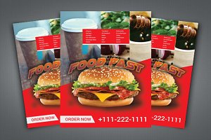 Fast Food Flyer