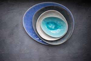 Rustic tableware
