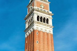 Bell tower on San Marco, Venice