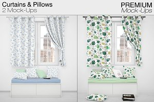 Pillows & Curtains
