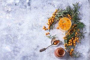 Buckthorn Tea and Jam