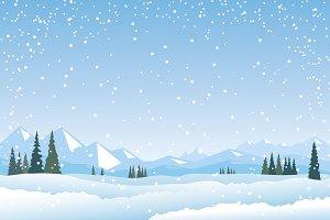 Winter landskape