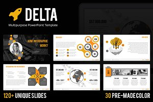 Delta - PowerPoint Template