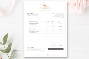 Invoice Template for Photographers