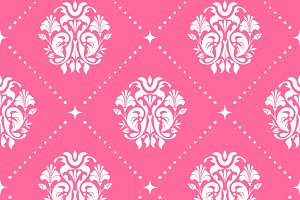 Pattern seamless baroque style