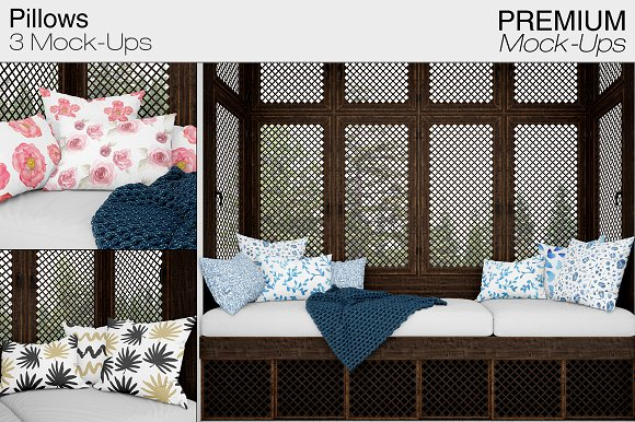 Pillows-Graphicriver中文最全的素材分享平台