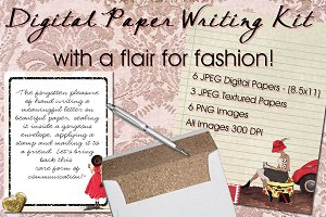 Digital Paper Writing Kit