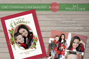 Christmas Photo Card 17-05
