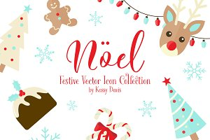 'Noel' Holiday Icon Collection