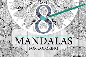 Mandalas for coloring2