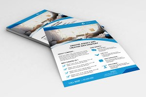 Web Designer Flyer Template -V665