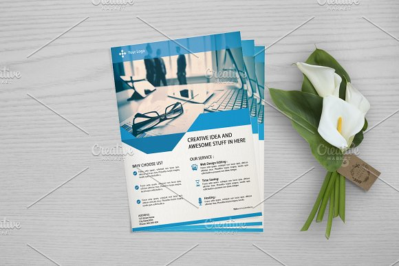 Web Designer Flyer Template V666