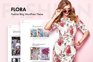 Flora - WordPress Blog Theme