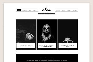 Cleo Theme • Genesis Framework