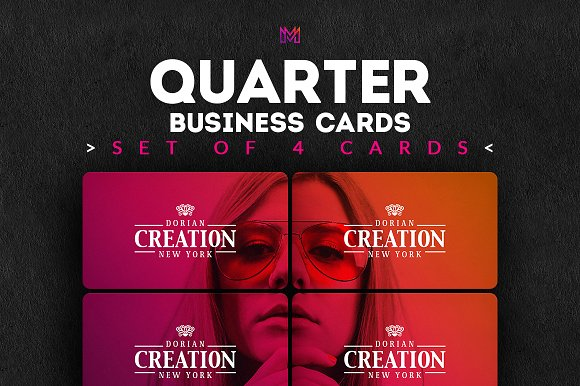 Seamless Business Cards Creation Kit Card Templates Creative Market