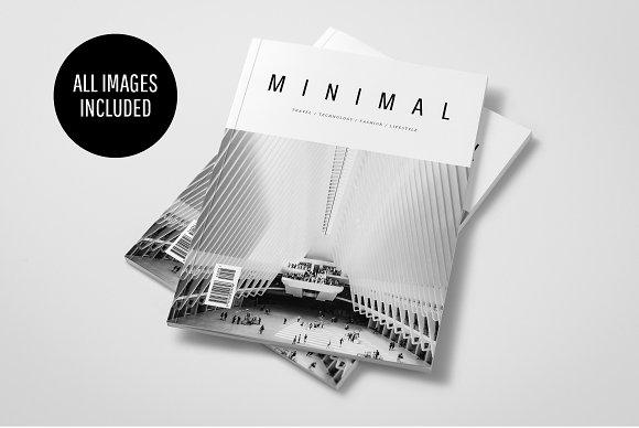 MINIMAL MAGAZINE-Graphicriver中文最全的素材分享平台