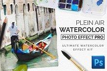PleinAir Watercolor Photo Effect Kit