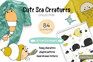 Cute Sea Creatures