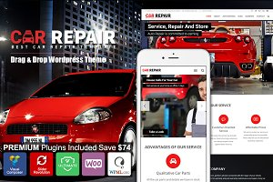 Car Repair - Auto Mechanic Wordpress