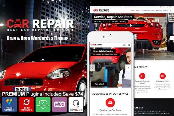 Car Repair Auto Mechanic Wordpress