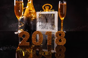 Celebrating 2018 New Year's Eve