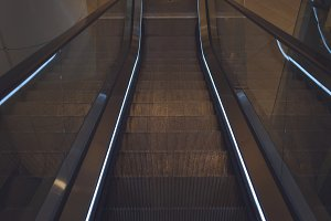 Illuminated escalators 1