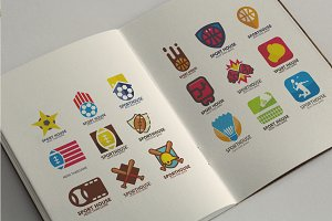 40 Premium Sport Logo Icon Set