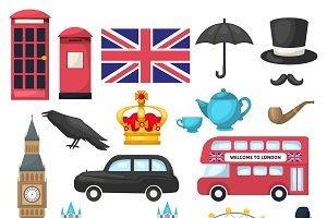 London Icon Set