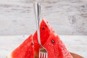 Watermelon cube