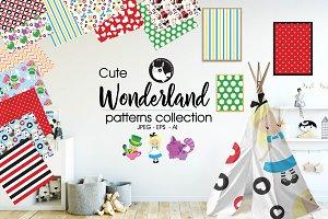 WONDERLAND Pattern collection