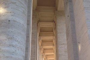 Vatican City Columns