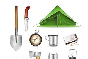 Vector Camping set