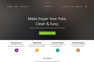 Yota - Creative WordPress Theme